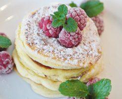 ラズベリーパンケーキ